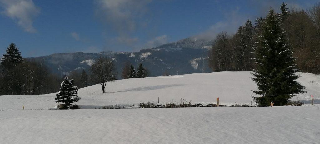 Winterlandschaft GC St. Lorenzen